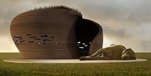 Pod In Grass By Vallo Sadovsky Architects