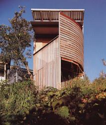 Woodslat House